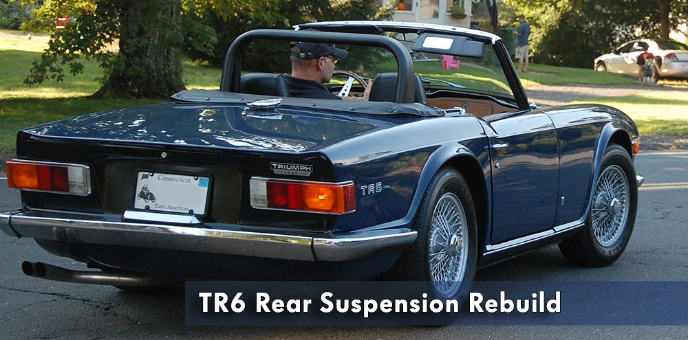 Triumph TR6 Rear Suspension Rebuild